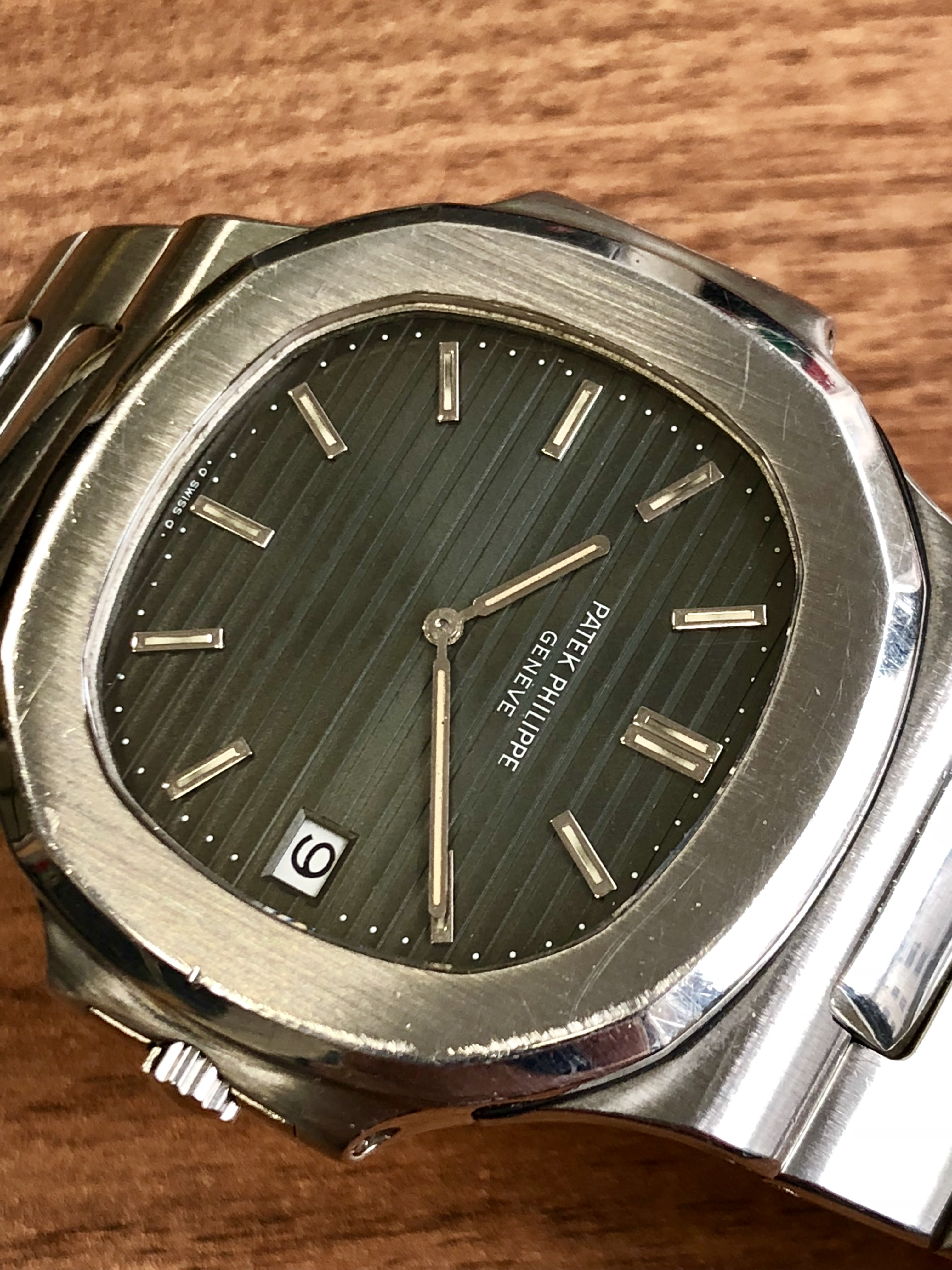 30f3c9b0874 Patek Philippe Nautilus 3700 Fat Links Jumbo - Precious Time Ltd