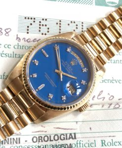 Rolex Day-Date Stella Blue