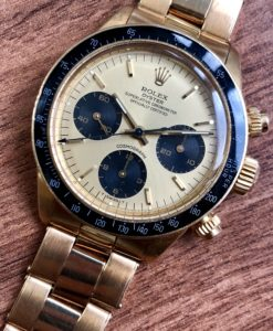 Rolex Daytona 6263 18k Gold R Series