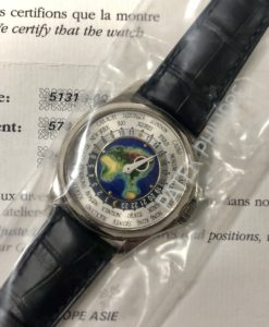 Patek Philippe World Time Enamel 5131G