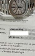 Patek Philippe Nautilus Chronograph 5980A White