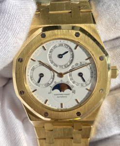 Audemars Piguet Royal Oak Perpetual Calendar 25654BA White Dial