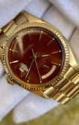 Rolex Day-Date 1803 Stella Oxblood