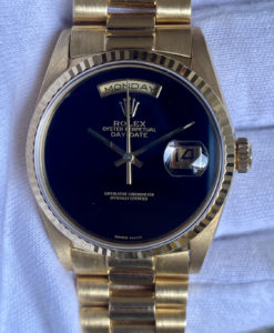 Rolex Day-Date Onyx 18238